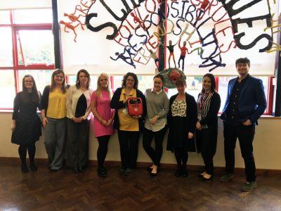 Cheshire school recognises the importance of AEDs in schools